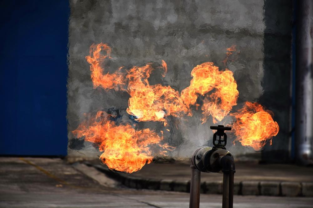 Gas Line Leaks