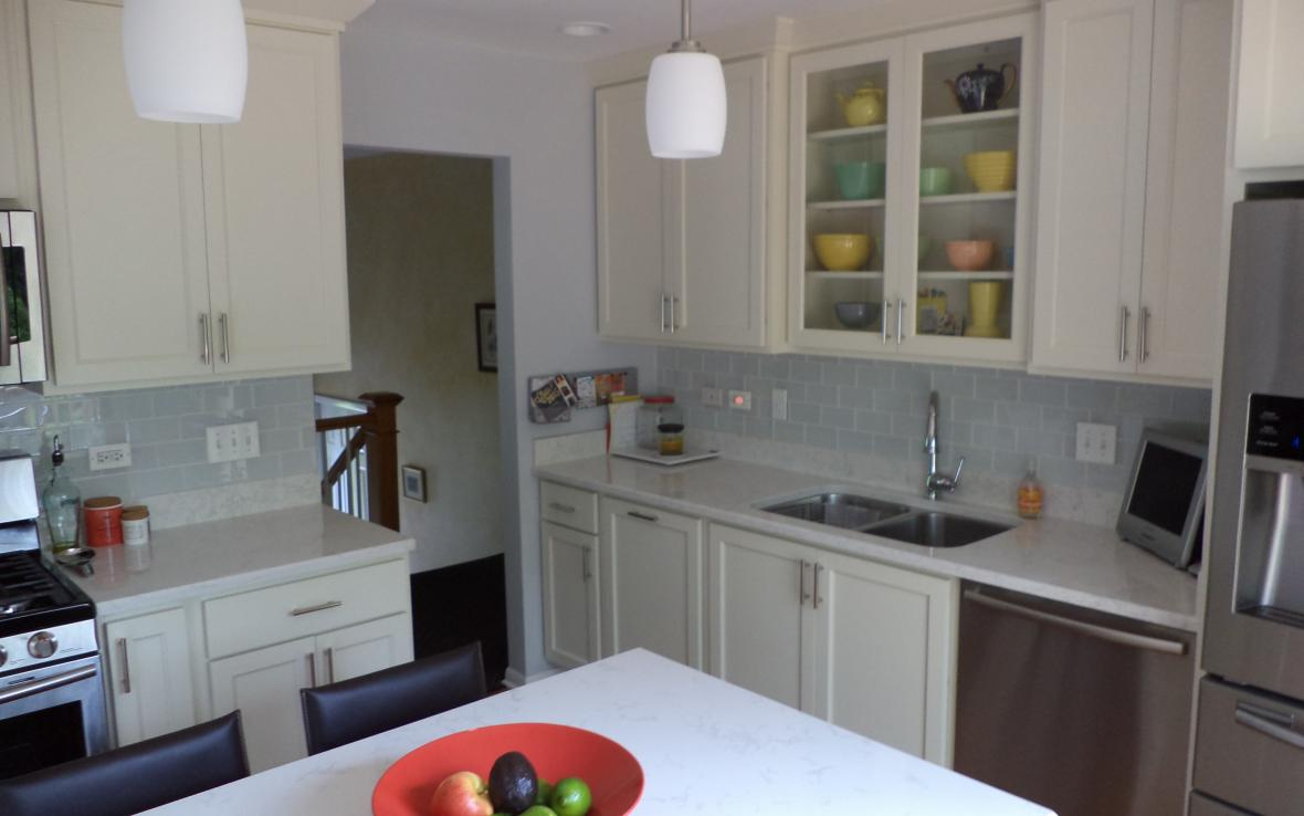 kitchen, bathroom, & basement remodel in downers grove, il