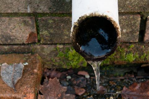 plumbing during winter